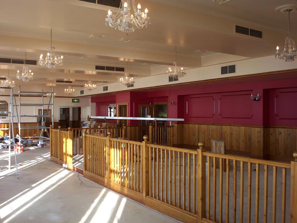 Facility Work to Harry Ramsdens Restaurant at Bournemouth Seafront - Emerald Facility Maintenance Ltd
